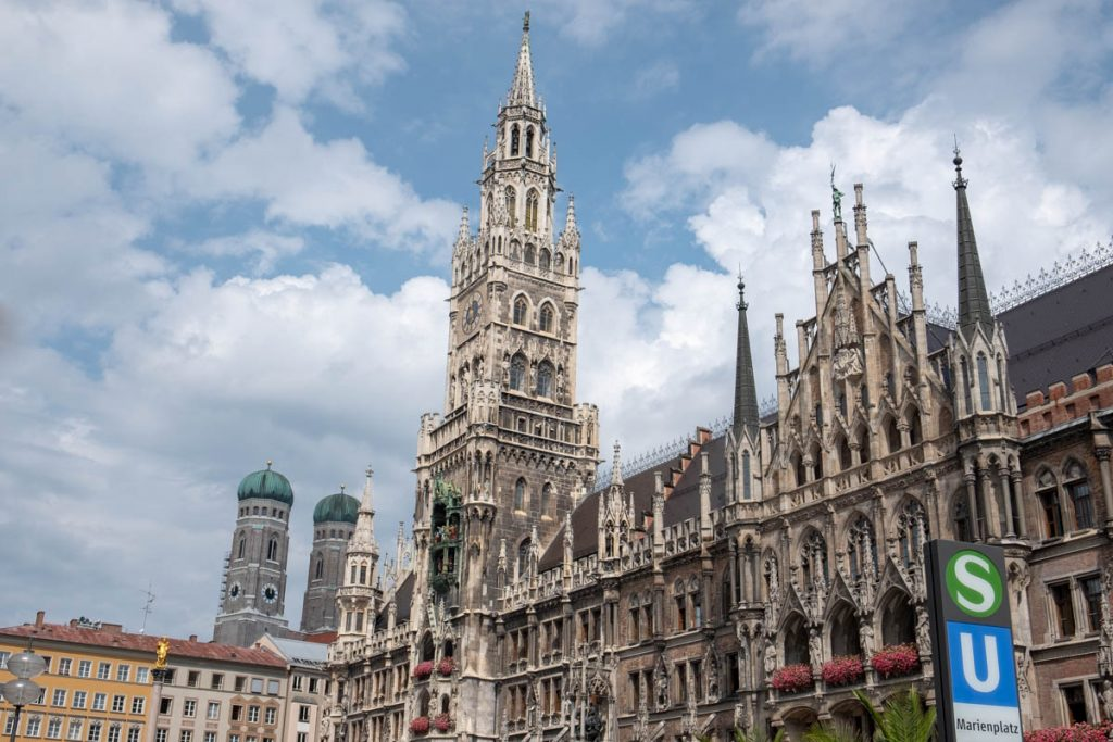 New Town Hall. Marienplatz munich