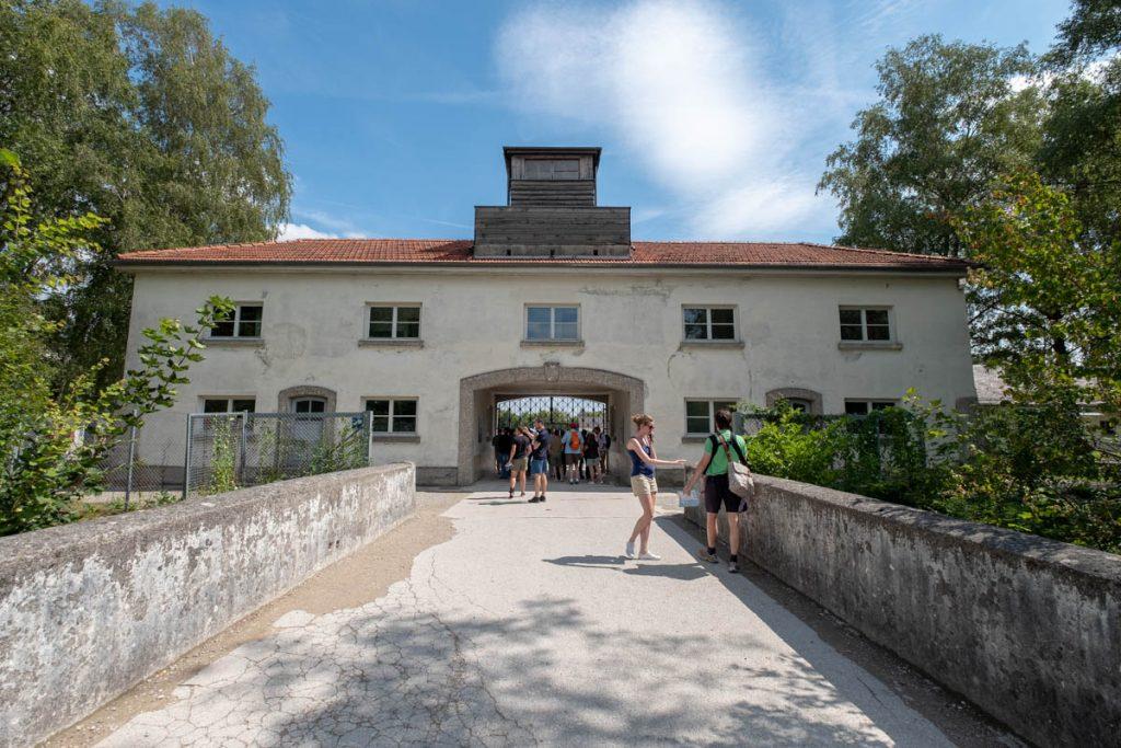 Dachau Main Gate House