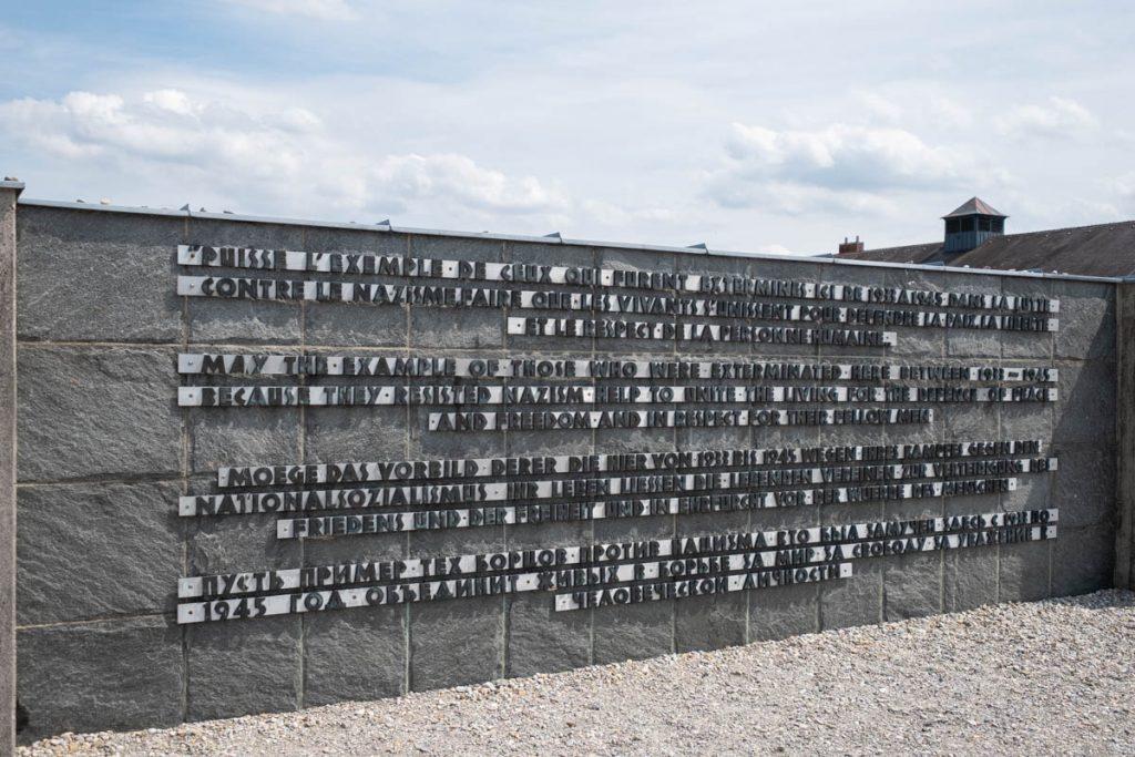 Dachau Memorial