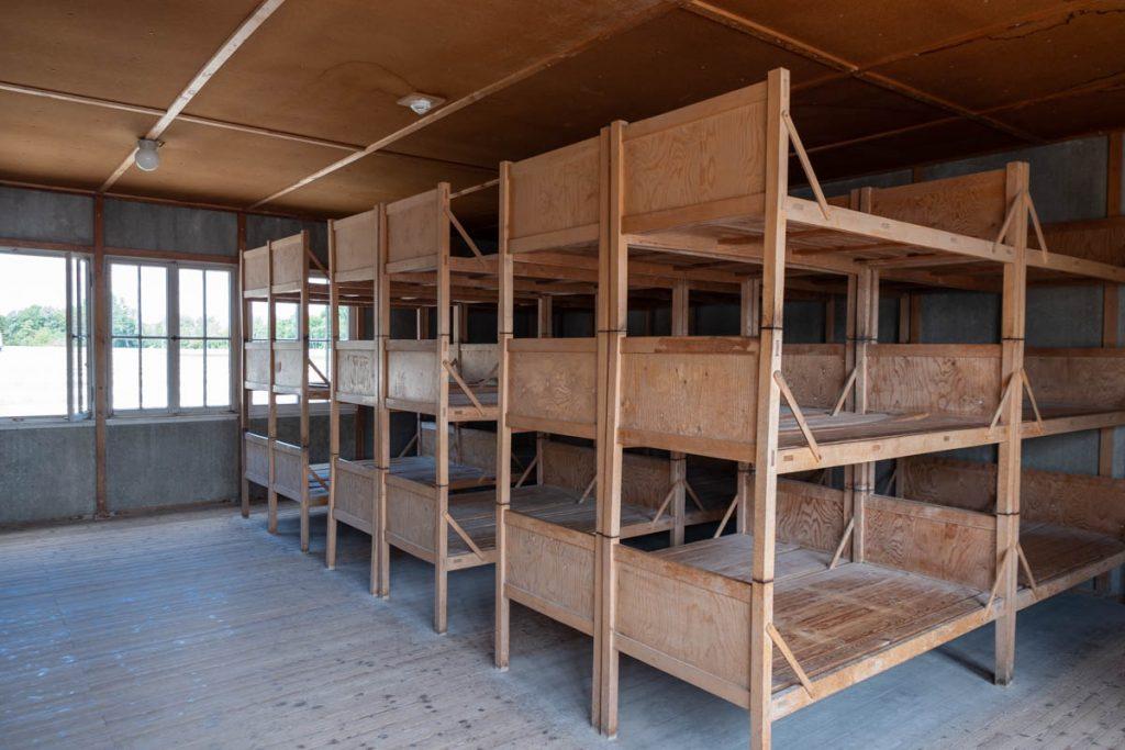 Inside the Dachau Barracks
