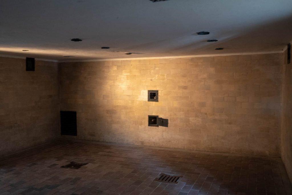 The showers at Dachau