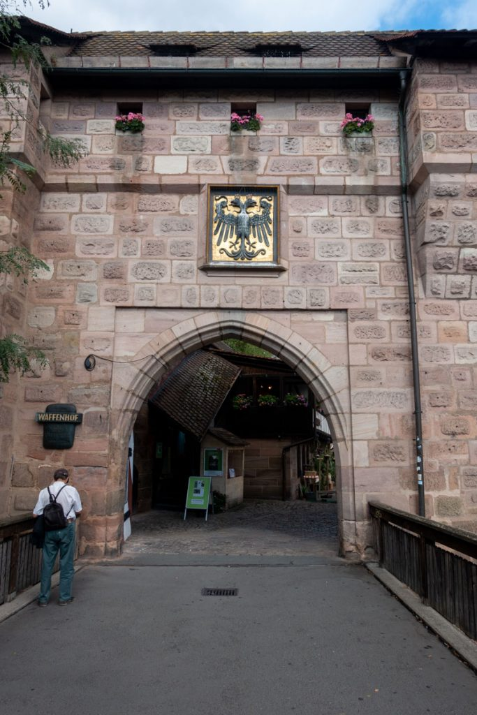 Nuremberg Old Town Gate