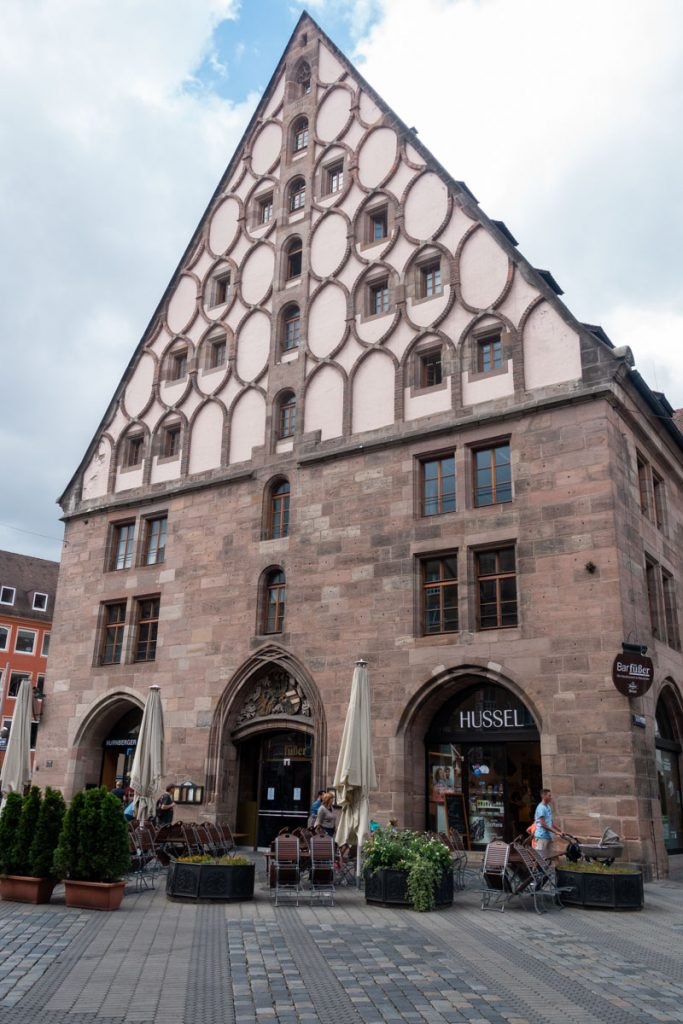 Old granary in Nuremberg