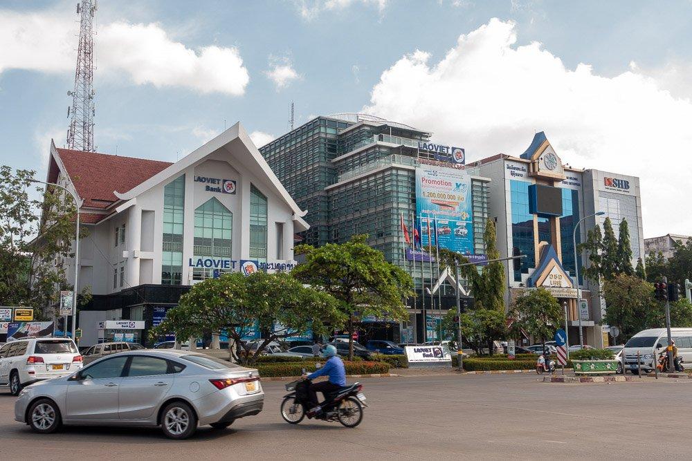 Sightseeing In Vientiane • Peter Branch