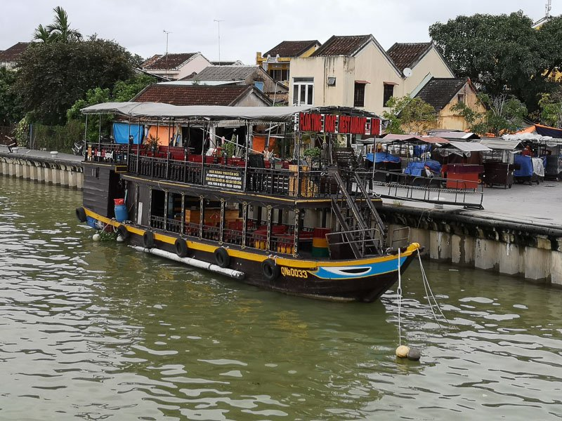 Dinner Boat cruise in Hoi An Vietnam