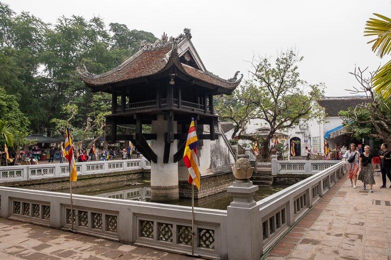 Photo of One Pillar Pagoda in Hanoi, Vietnam