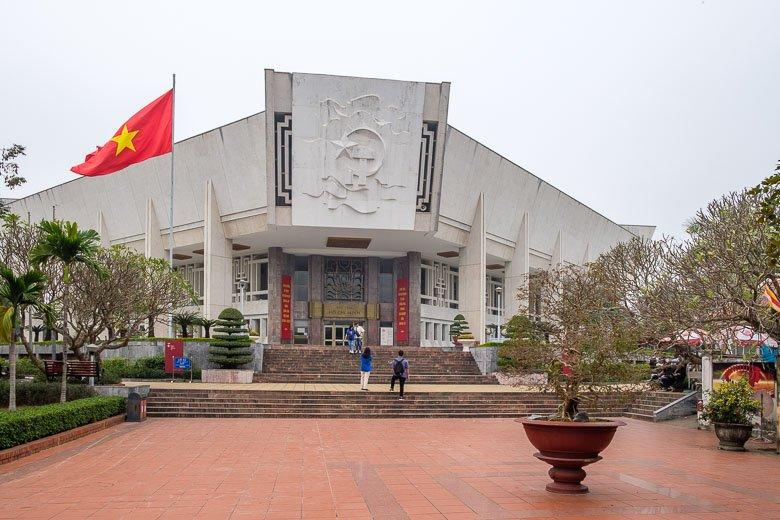 Photo of Ho Chi Minh Museum in Hanoi, Vietnam