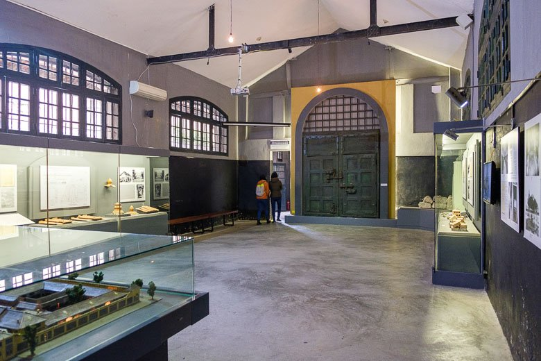 Hoa Lo Prison Museum in Hanoi, Vietnam
